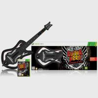 Guitar Hero: Warriors of Rock (игра + гитара)