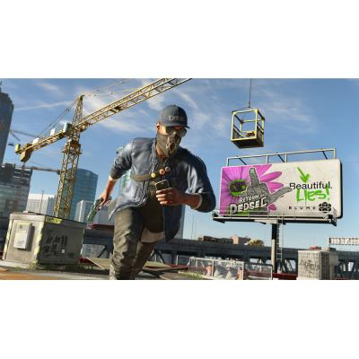 Watch Dogs 2 (Xbox One, б/у,  рус.)