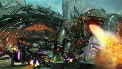 Transformers Fall Of Cybertron (Xbox 360, б/у)